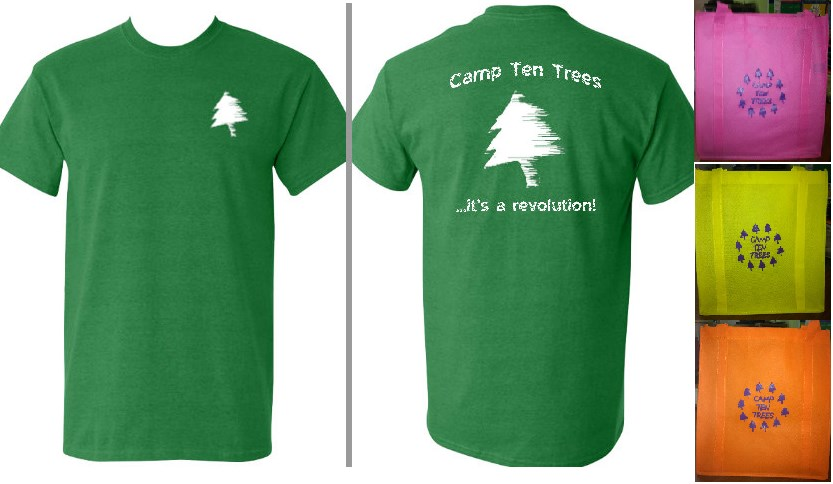 Camp Ten Trees Gear